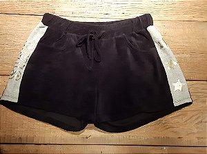 Shorts em veludo Lilimoon