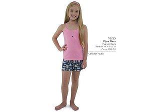 Pijama com blusa e shorts Dedeka
