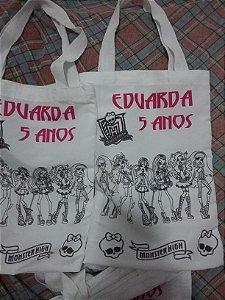 Bolsinhas Tipo Eco Bag Para Colorir com Canetinha 20x30
