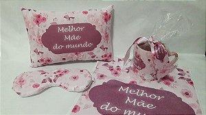 kit dia das mães caneca almofada mascara toalhinha