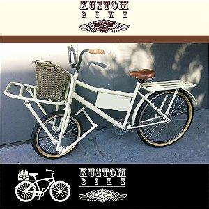 FoodBike FatBoy - Bicicleta Cargo Carga Aro 26 BikeFood