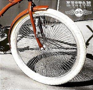 Par de Rodas 144 Raios - Lowrider Lowbike Low Custom Vintage Chopper Retrô Vintage Cruiser