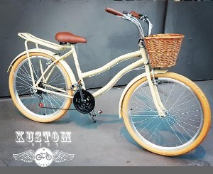 Bicicleta Vintage Estilo Aro 26 - Antiga Vintage