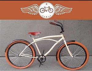 Bicicleta Vintage Harley Urbana - Beach Bike