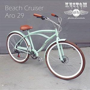 Bicicleta Retrô Aro 29 Beach - Freios a Disco