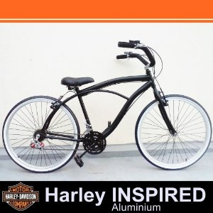 Bicicleta Retrô Vintage - Inspired Harley - Beach Bike Praiana Caiçara