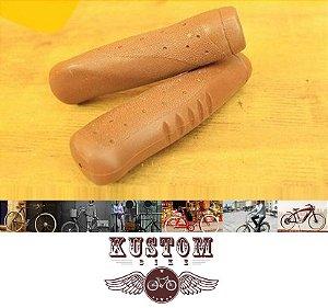 Punho Manopla Marrom - Retrô Vintage Antiga Kraton