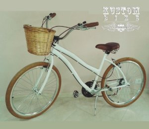 Bicicleta Feminina Retrô - Vintage Antiga Cruiser Inspired Harley