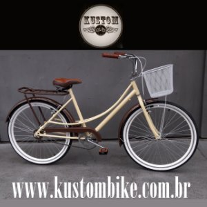 Bicicleta Feminina Retrô - Retrô Vintage Inspired Harley Antiga