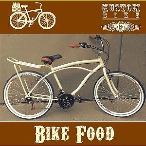Bike Food Bicicleta Cargueira Carga Aro 26 BikeFood