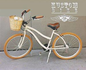 Bicicleta Feminina Vintage Retrô - Antiga Cruiser Inspired Harley
