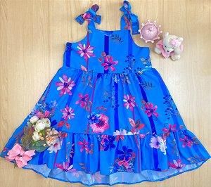 Vestido Infantil Menina Primavera - Pokótinha