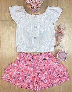 Conjunto Infantil Menina Moda - Kiki Xodó