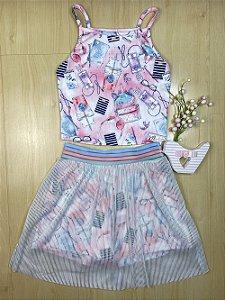 Conjunto Infantil Menina Fashion - Menina Anjo