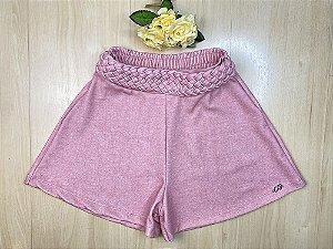 Shorts Infantil Menina Rapunzel - Menina Anjo