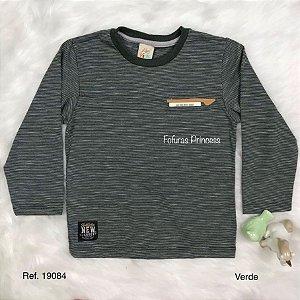 Camiseta Infantil, Listras - AleKids