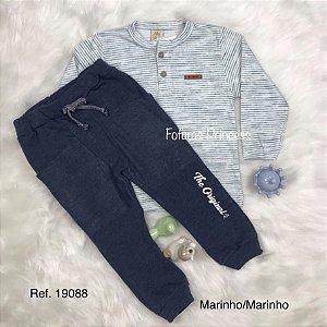 Conjunto Infantil, Blusa e Calça Casual - AleKids