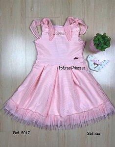Vestido Infantil Princess - Kiki Xodó