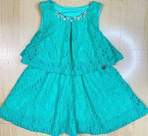 Vestido Infantil Rendinha - Kiki Xodó