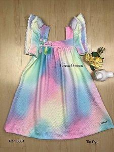 Vestido Infantil Verão Tie Dye - Kiki Xodó