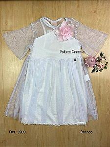 Vestido Infantil Verão Flor do Campo - Kiki Xodó
