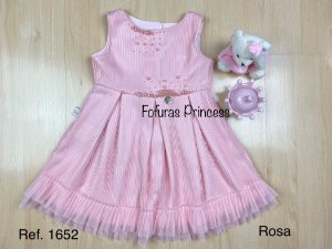 Vestido Infantil Frufru - Kiki Xodó