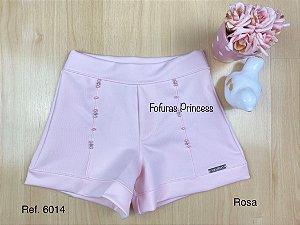 Shorts Infantil Perolas - Kiki Xodó