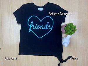 Blusa Infantil Friends - Menina Anjo