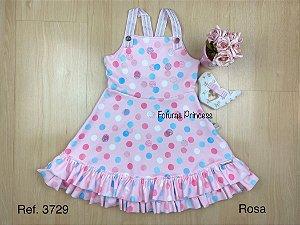 Vestido Infantil Poá em Cores - Kiki Xodó
