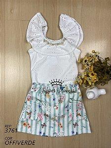 Conjunto infantil - Flores do Campo - Kiki Xodó