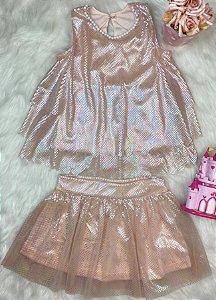 Conjunto Infantil Tule Glamour - Kiki Xodó