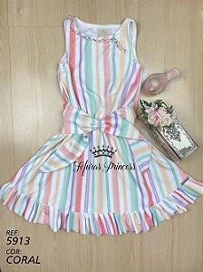 Vestido Infantil Candy Color - Kiki Xodó
