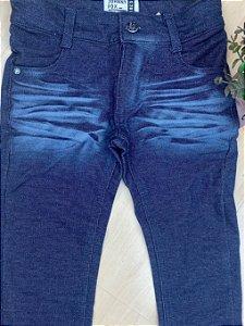 Calça Infantil Menino Jeans Moleton - Johnny Fox