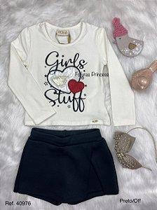 Conjunto Infantil Menina Girls - Kukiê