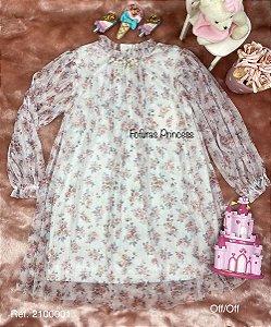 Vestido Infantil Menina Camponesa - Kiki Xodó