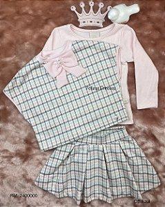 Conjunto Infantil Menina de Laço - Kiki Xodó