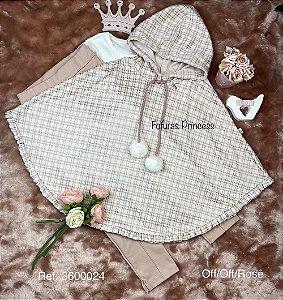 Conjunto Infantil Menina Pompom - Kiki Xodó