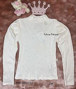 Blusa Infantil Menina de Brilhos - Kiki Xodó
