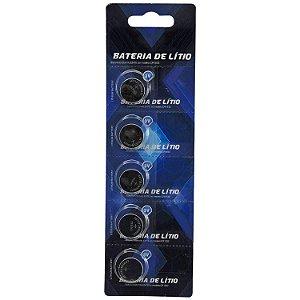 BATERIA CARTELA c/ 5 MODELO CR1632