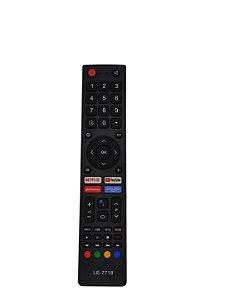 Controle Remoto Philco Botao Netflix  Youtube  Globoplay  Prime Video