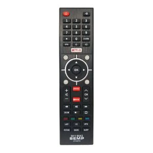 CONTROLE REMOTO TV LED SEMP COM GLOBOPLAY E YOUTUBE (SMART TV)