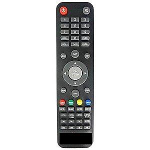 Controle remoto compativel com Satbox Vivo X