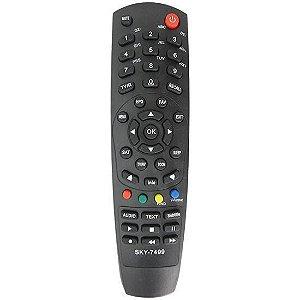 Controle remoto  Controle Remoto Tocomsat Combate S LE