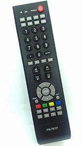 CONTROLE REMOTO TV LCD / LED SEMP TOSHIBA LC2655WDA / LC3255WDA / LC4055FDA