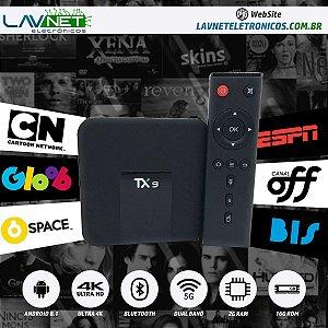 CONVERSOR SMART TX 9 QUAD CORE DUAL BAND 5G BLUETOOTH