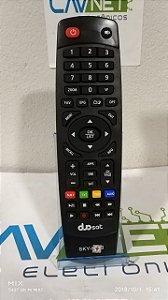 Controle Remoto Duosat Maxx HD