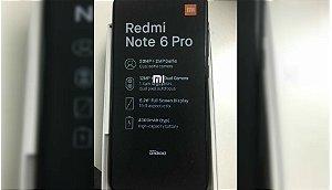 Xiaomi Redmi Note 6 PRO 3GB RAM 32GB Armazenamento -  Versão Global