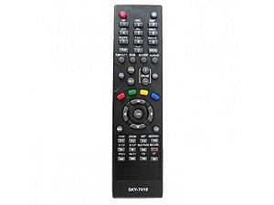 Controle remoto para Azbox Spyder /  Tocomfree 929 / 928 Acm / Agenius A1