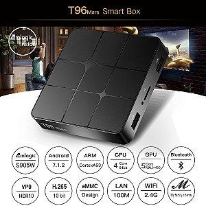 CONVERSOR SMART T96MARS Amlogic S905W 2 16 GB BT 4.0
