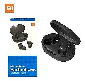 Fones Ouvido Xiaomi Earbuds Basic 2 Preto Selo Originalide